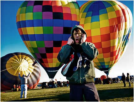 Jamie Baldonado at Balloon Fiesta